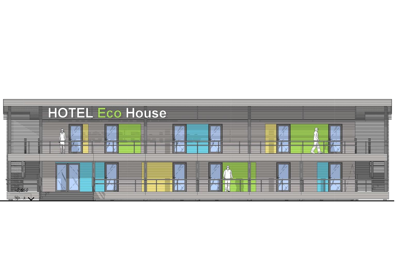 ECOMOTEL INDIVIDUAL, 2 этажа (11)