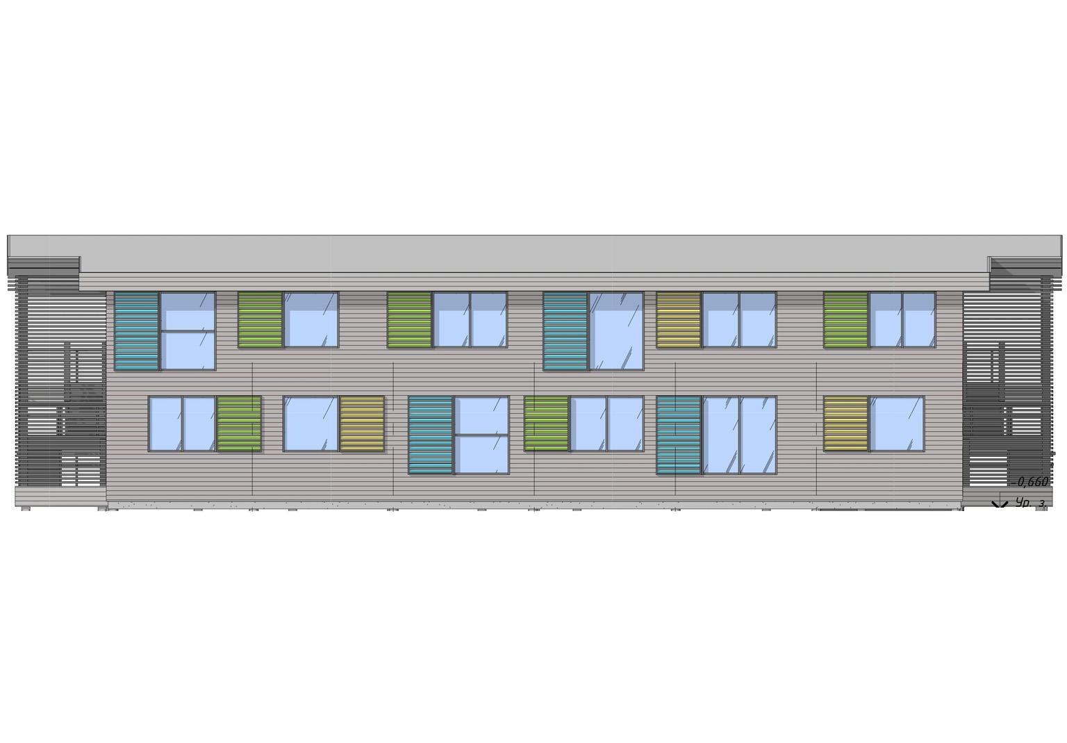 ECOMOTEL INDIVIDUAL, 2 этажа (14)