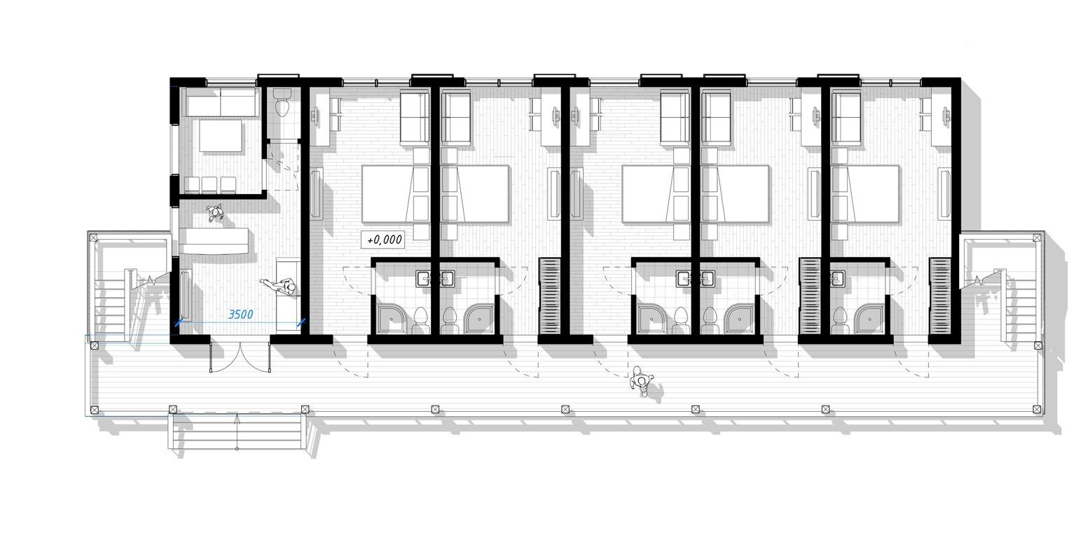 ECOMOTEL INDIVIDUAL, 2 этажа (9)