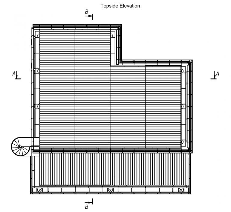 Topside Elevation